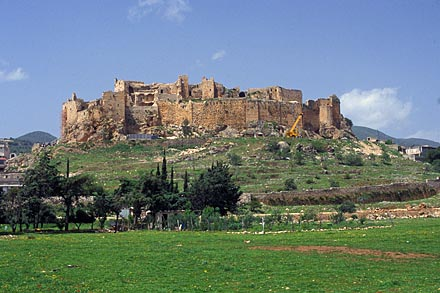 Masyaf Castle from E